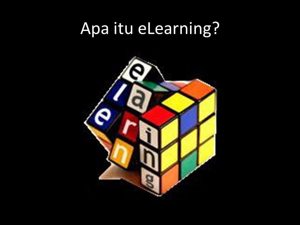 Apa itu eLearning?