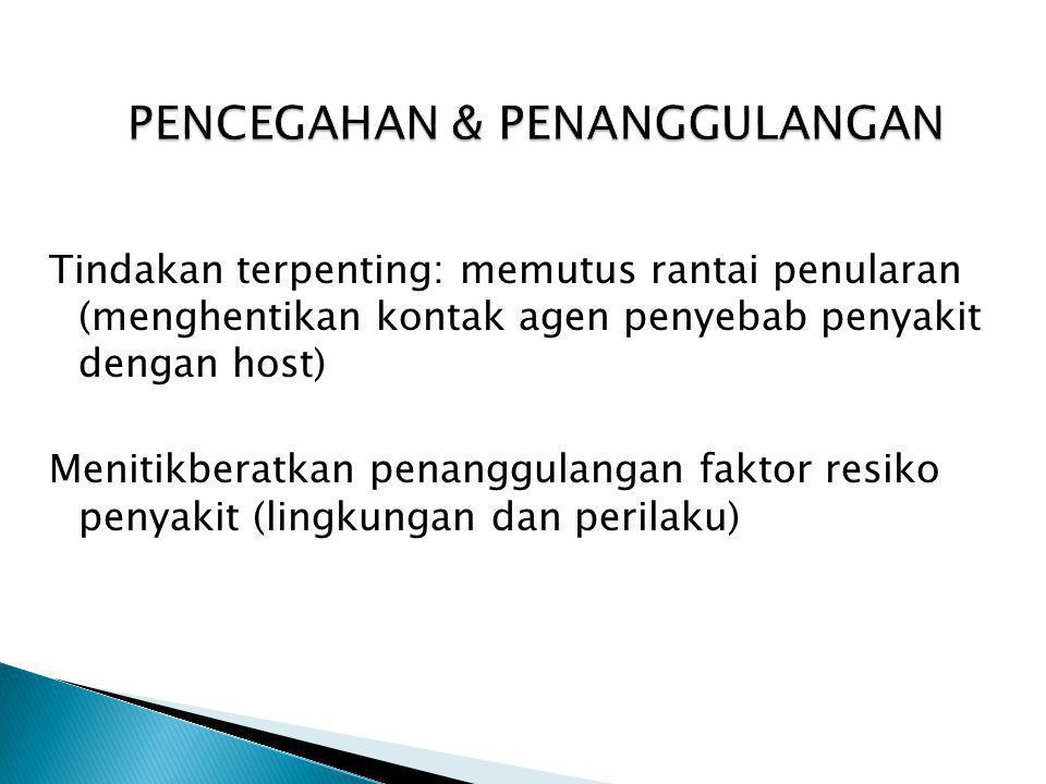 Penyebab: Mycobacterium tuberculosis Mycobacterium bovis