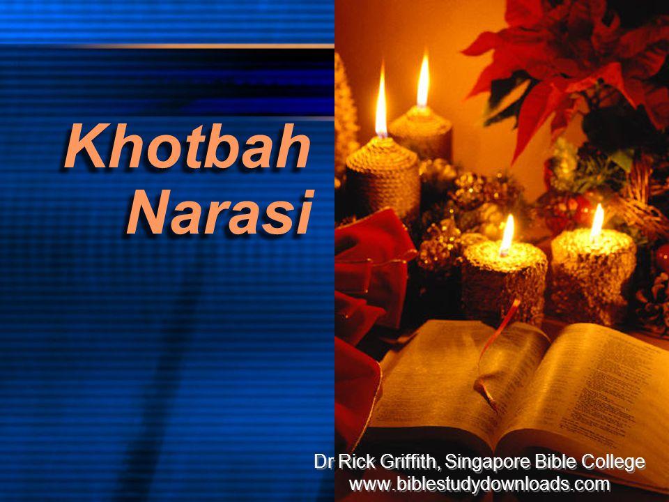 Walk Through The Bible ©1989 Nehemia: Dinding Kata Kunci Kita