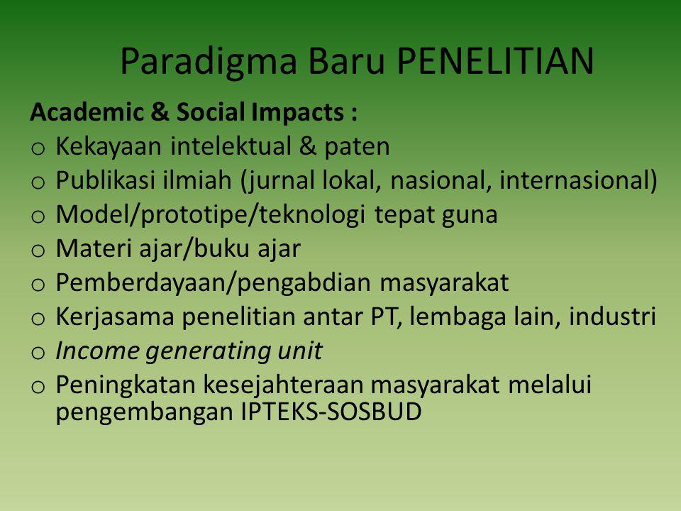 DESENTRALISASI PENELITIAN 1.