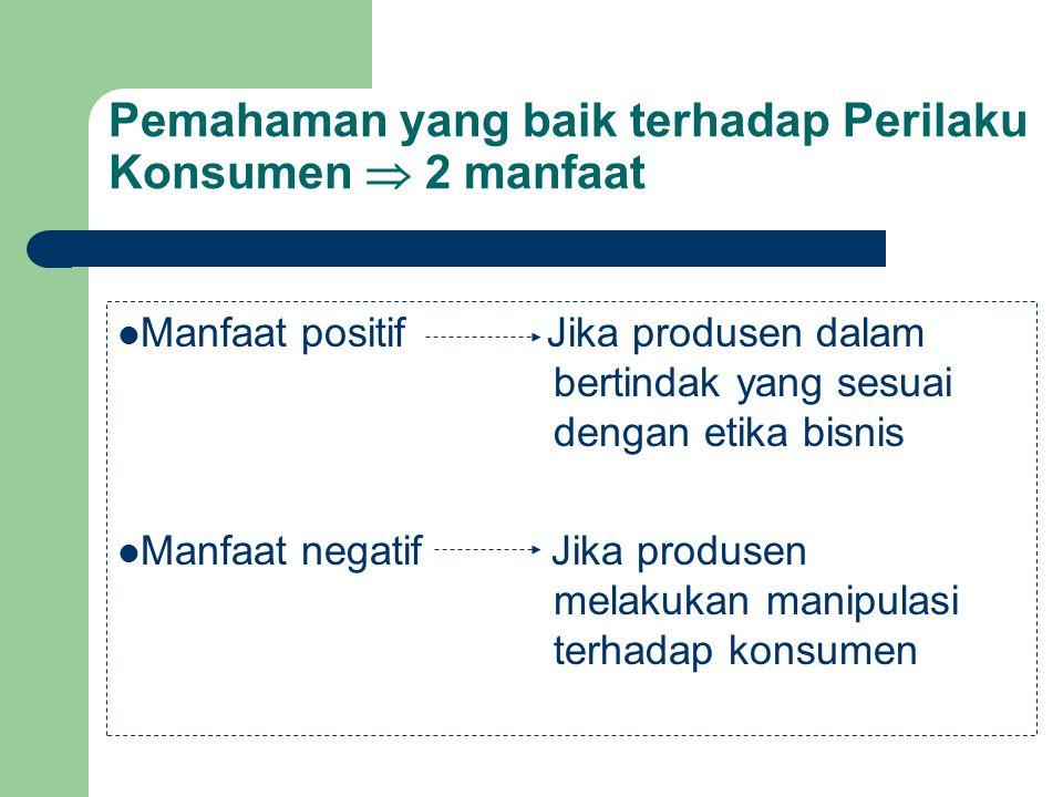 KEPENTINGAN PRODUSEN DAN KONSUMEN KONSUMEN BERBEDA dalam Hal : Kebutuhan dan Keinginannya PERSAMAAN dalam Hal : Mengkonsumsi barang & jasa Kepentingan yang Sama