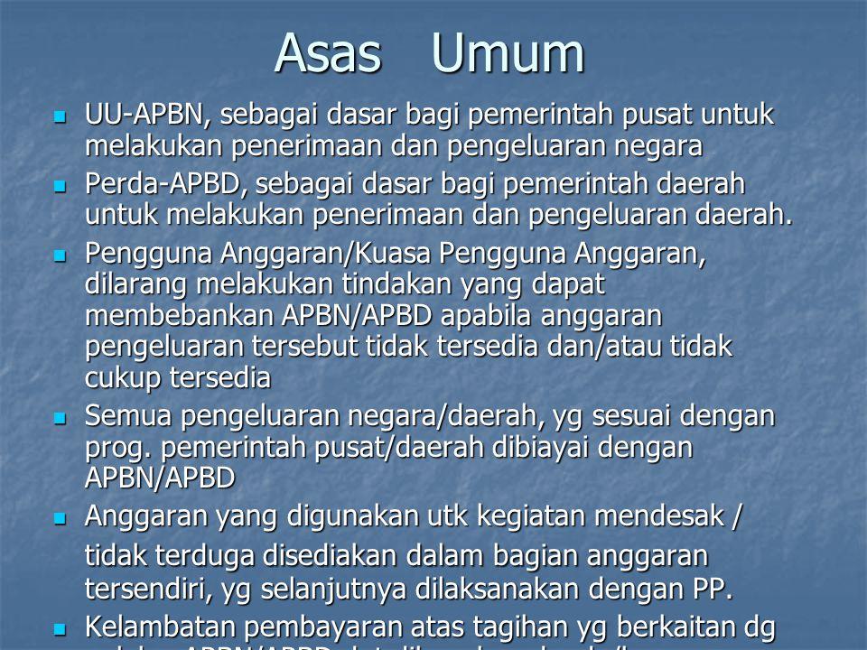 Pengurusan APBN Pengurusan APBN 1. Pengurusan Umum ( Administratif Beheer ) 1. Pengurusan Umum ( Administratif Beheer ) dilaksanakan oleh Menteri tekn