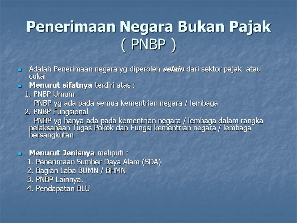 Pelaksanaan Anggaran Pendapatan Setiap kementrian negara /lembaga wajib mengintensifkan perolehan PNBP yang menjadi tanggungjawabnya.