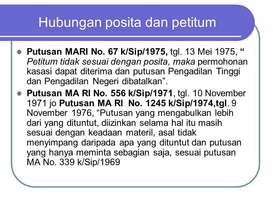 DWANGSOM (UANG PAKSA) Ps.225 HIR jo 1267 BW Putusan MA RI No.