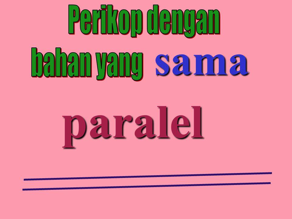 paralel sama