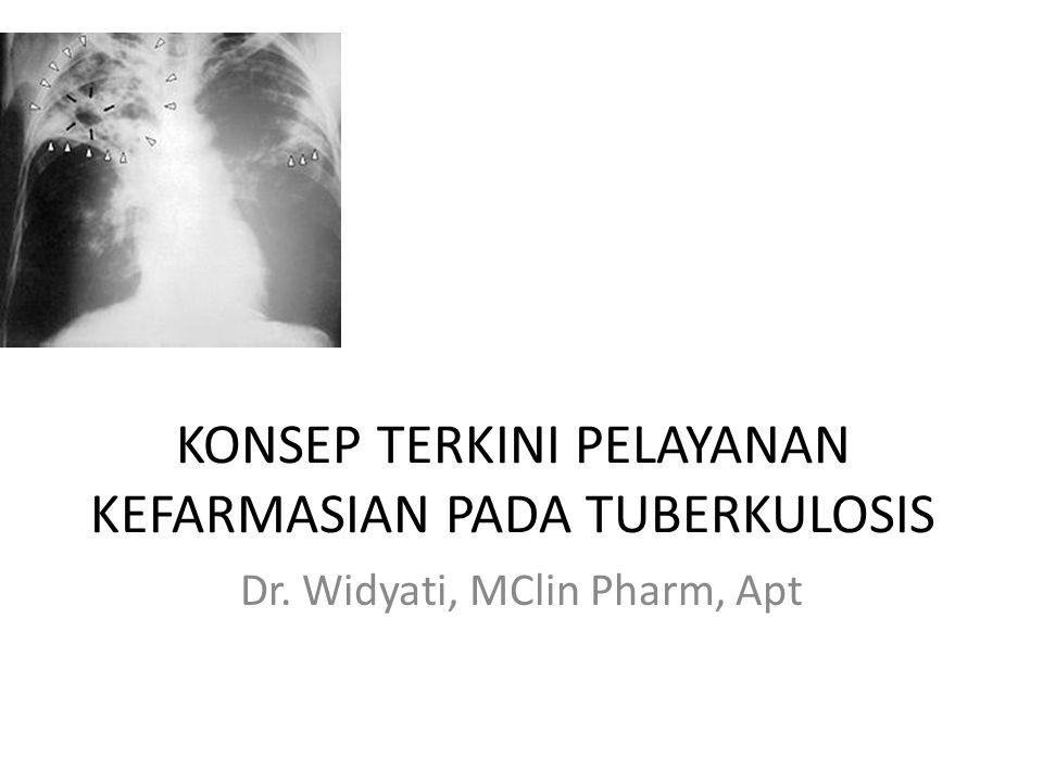 TB in HIV Pasien dengan CD4 + <100/µl harus mendapat Rejimen 1/1A atau Rejimen 3/3A setiap hari atau 3x seminggu CD4 counts ≥ 100/µl terapi 2x seminggu Lama terapi minimum 6 bulan meskipun culture-negative TB.
