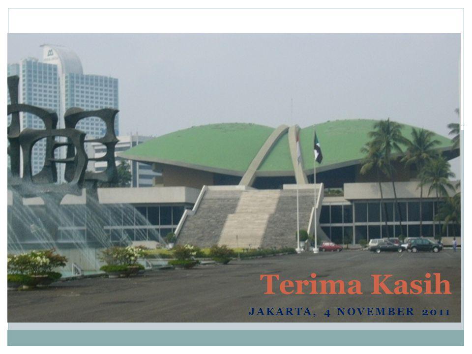 JAKARTA, 4 NOVEMBER 2011 Terima Kasih