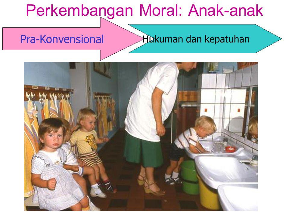 Pra-Konvensional Perkembangan Moral: Anak-anak Hukuman dan kepatuhan