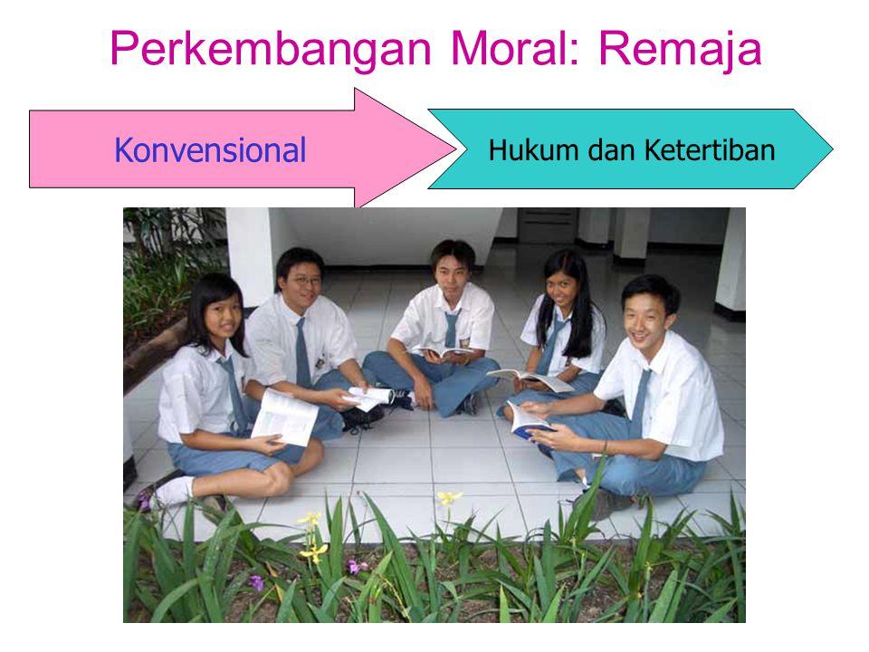 Perkembangan Moral: Remaja Konvensional Hukum dan Ketertiban