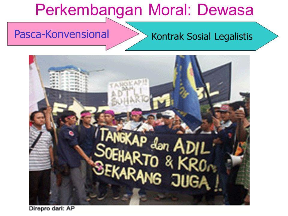 Perkembangan Moral: Dewasa Pasca-Konvensional Kontrak Sosial Legalistis