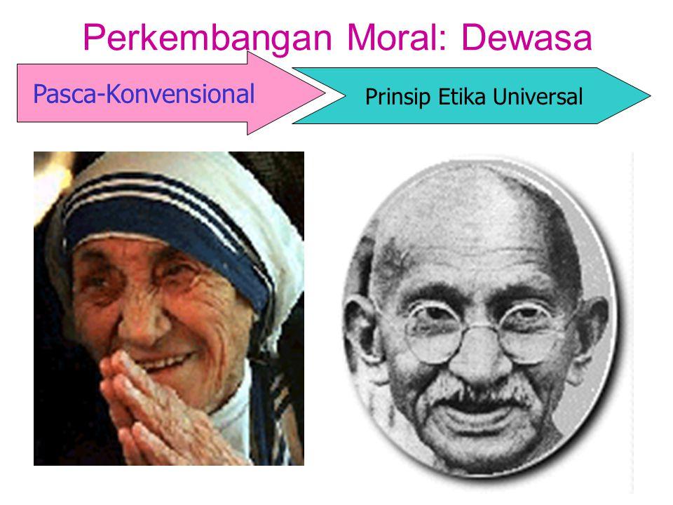 Perkembangan Moral: Dewasa Pasca-Konvensional Prinsip Etika Universal