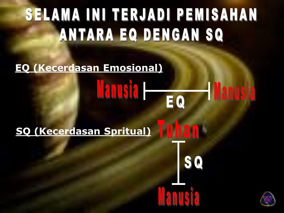 EQ (Kecerdasan Emosional) SQ (Kecerdasan Spritual)
