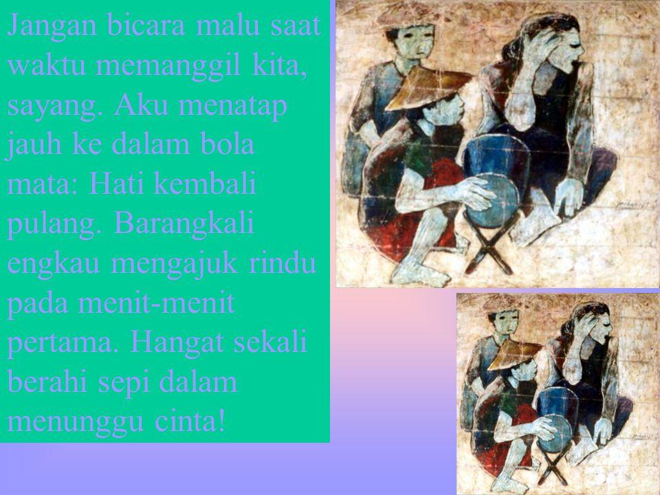 Sutan Iwan Soekri Munaf Inspirasi Lukisan Jeihan 3
