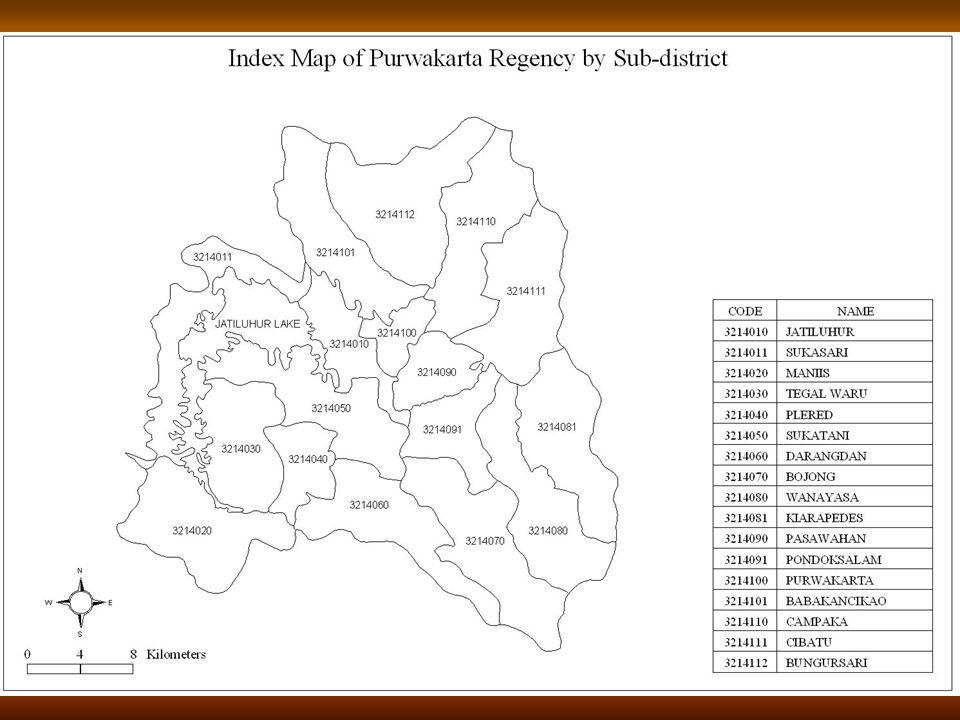 11 Peta Indeks Kabupaten Purwakarta Per Kecamatan