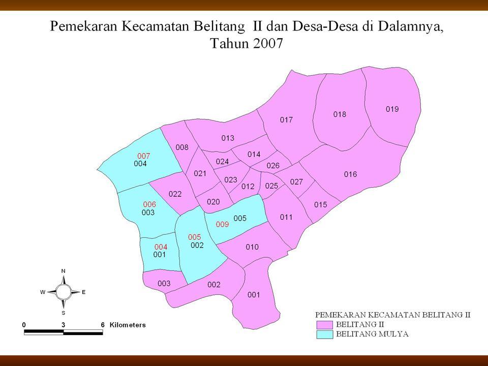 17 Pemekaran Kecamatan Belitang II