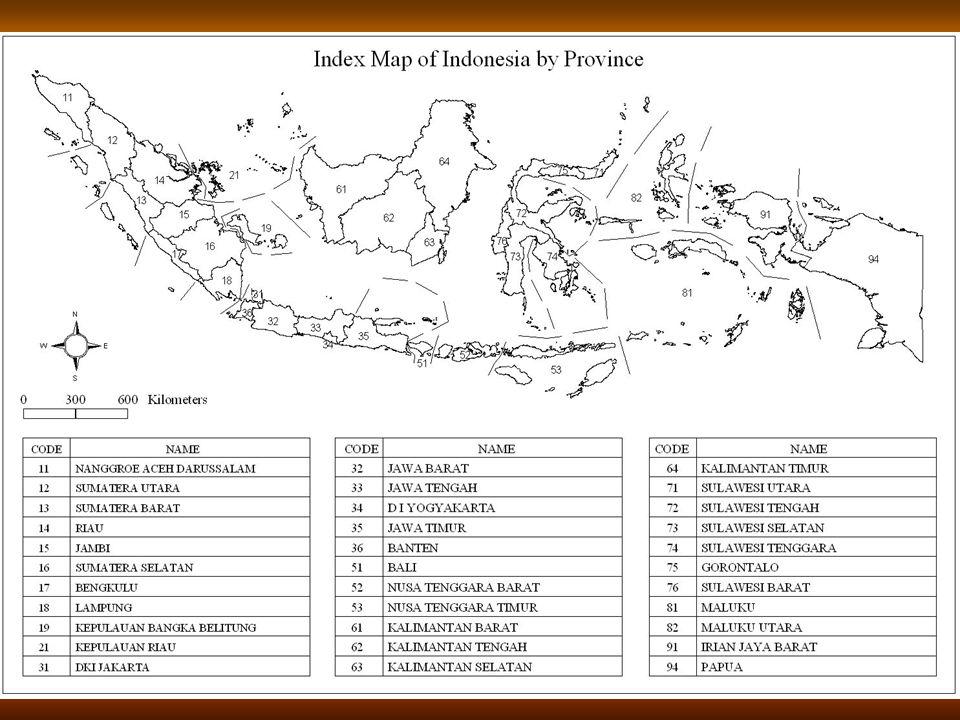 8 Peta Indeks Indonesia