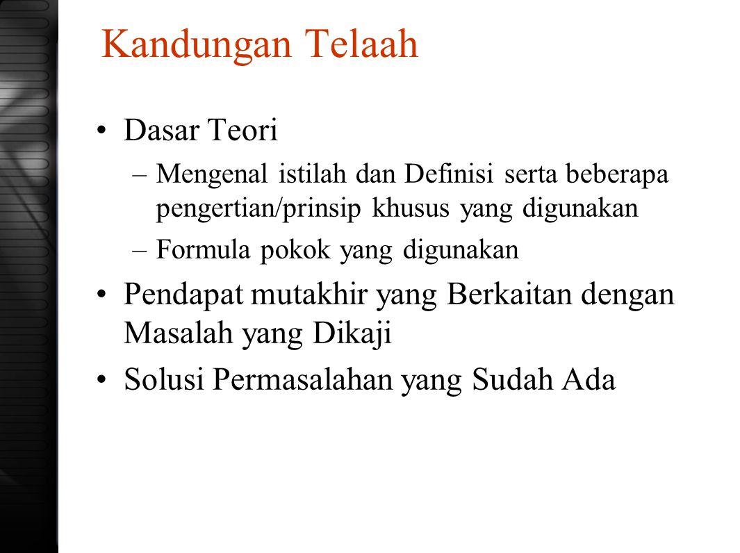 Berupa TA, Thesis atau Disertasi Awasilah, A.C.
