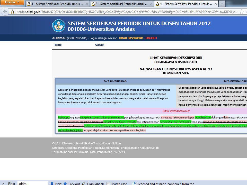 Sertifikasi Dosen 2012 36