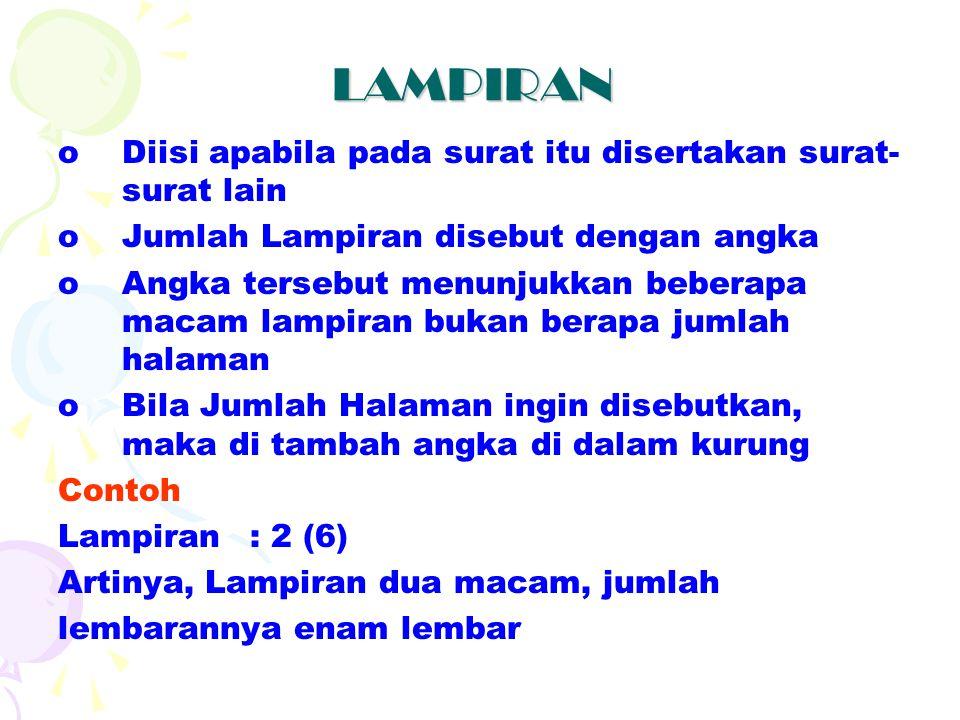 NOMOR, LAMPIRAN, HAL & ALAMAT Nomor: 012/PR/A/XV/7454/II/2008 Lampiran: 1 (2) Perihal: Undangan Rapat Kerja Yang Terhormat : 1. PAC. IPNU Karanggeneng