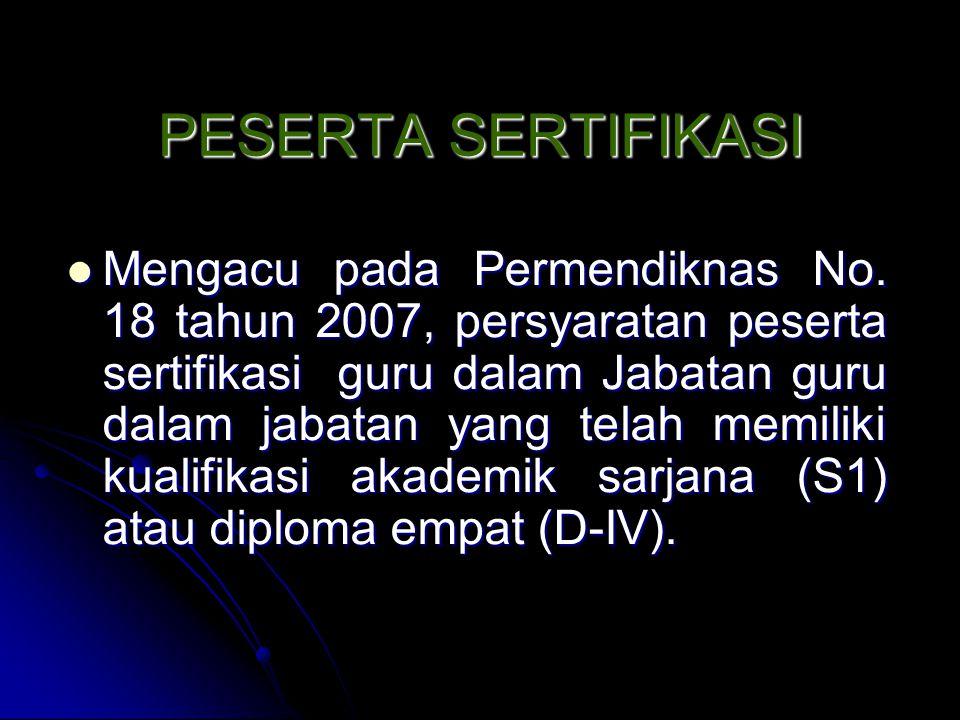 KRITERIA ASESSOR Warga negara Indonesia yang berstatus sebagai dosen, diutamakan yang telah mengikuti pelatihan/pembekalan asesor.