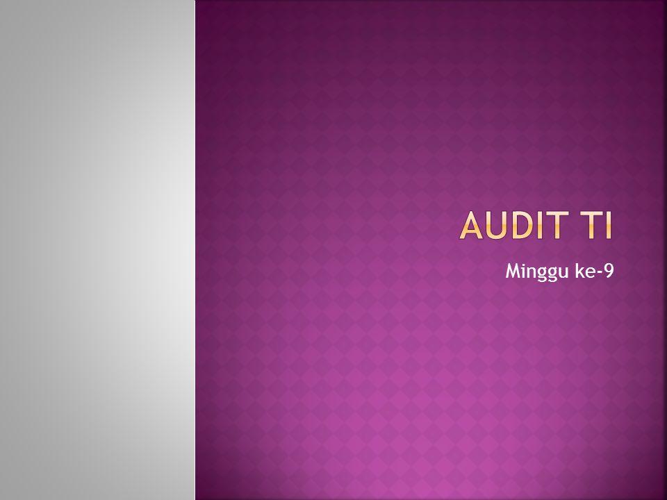 1.Penyampaian Kontrak Perkuliahan. Overview Tatakelola dan Audit TI.