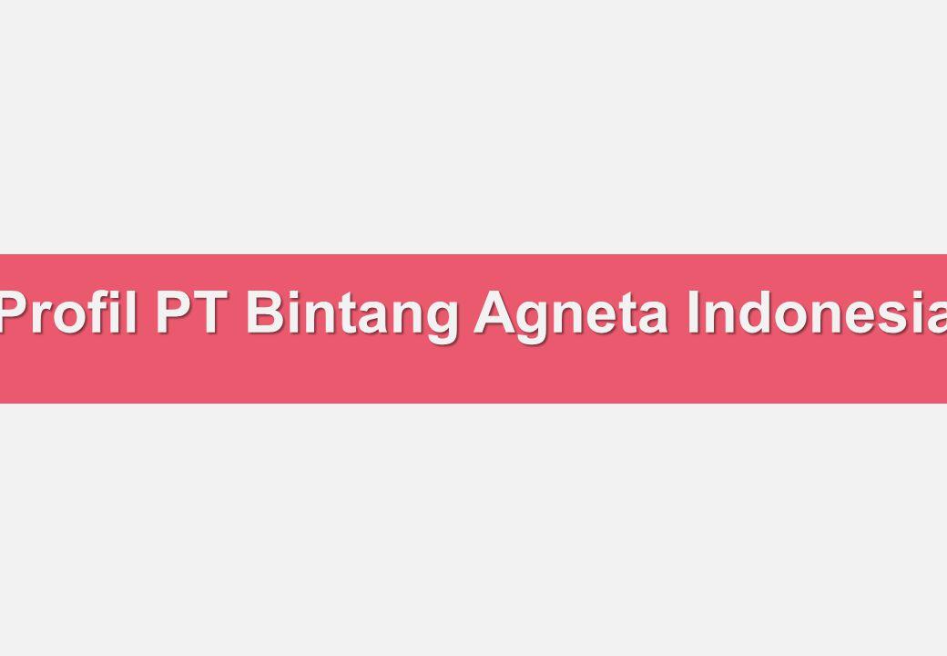 Profil PT Bintang Agneta Indonesia