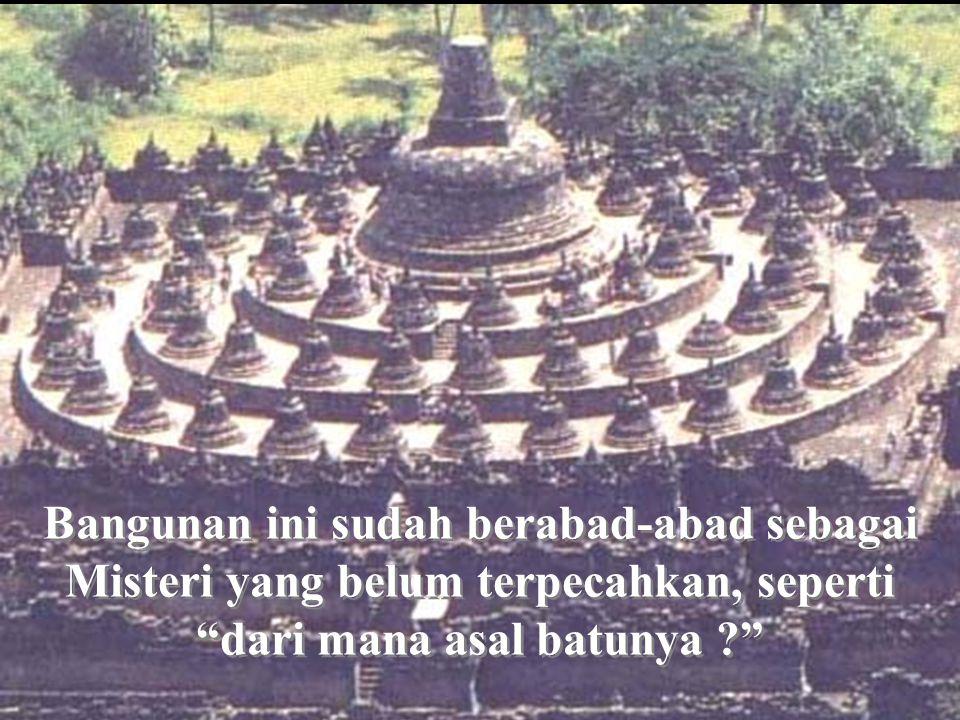 Borobudur, demikian nama sebuah Bangunan di bagian tengah Pulau Jawa (Jawa Tengah). Satu pulau yang tidak demikian besar di Indonesia.