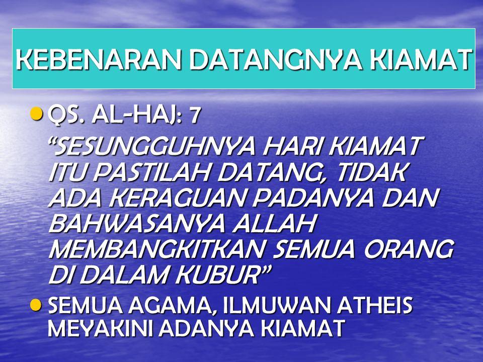 QS.AL-HAJ: 7 QS.