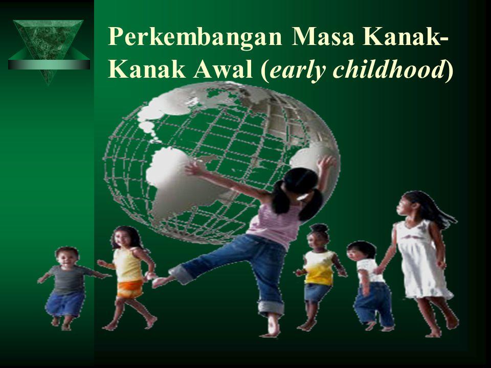 Perkembangan Masa Kanak- Kanak Awal (early childhood)
