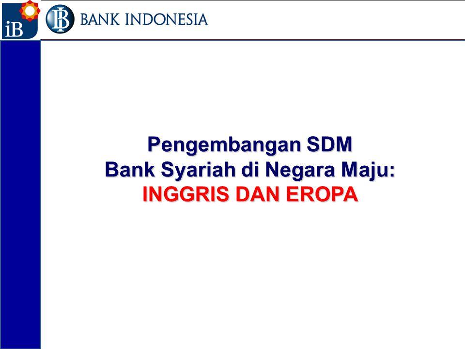 Pengembangan SDM Bank Syariah di Negara Maju: INGGRIS DAN EROPA 25