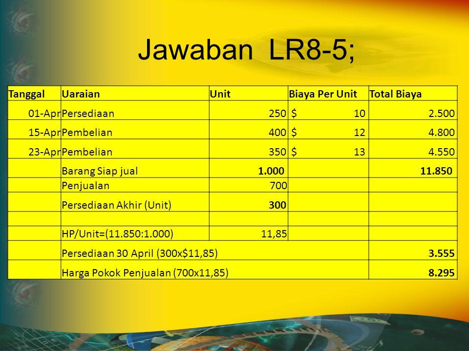 Soal LR8-6