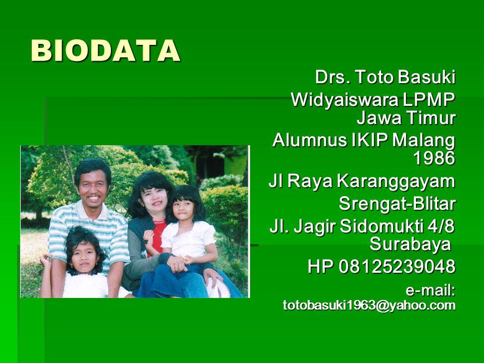BIODATA Drs.