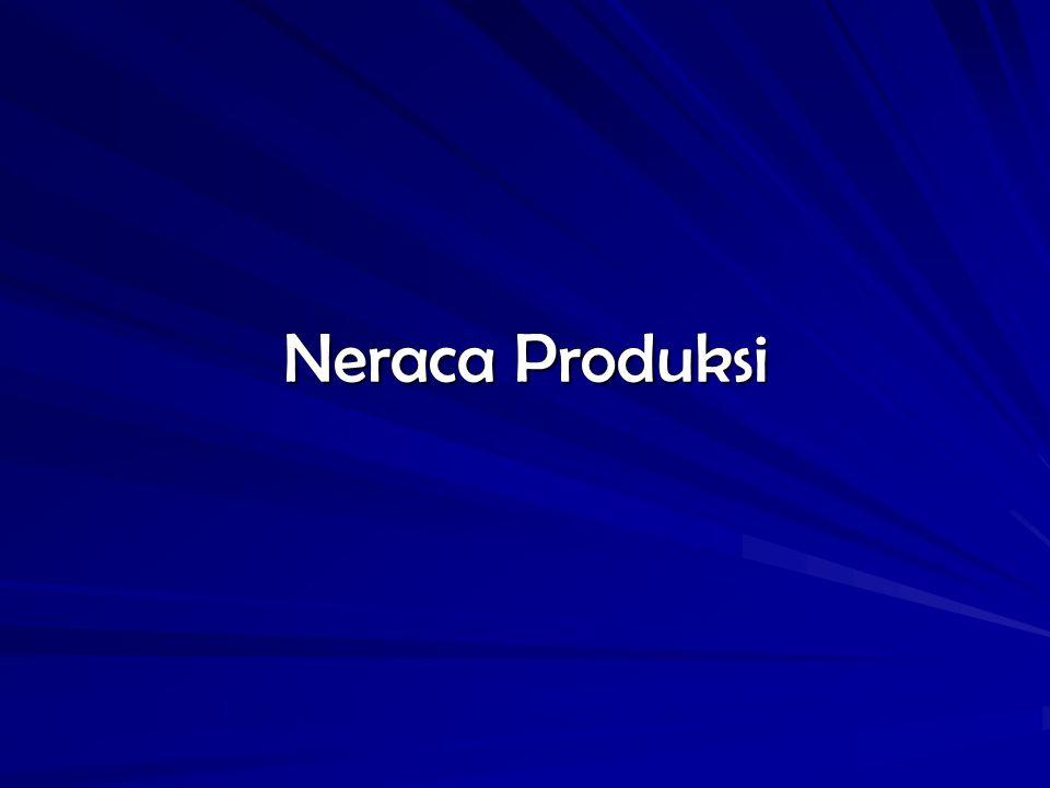 Basis data SNSE Neraca Produksi (NP) Produk Domestik Bruto (PDB) Tabel Input-Output (I - O) Matriks Supply and Use (S-U)