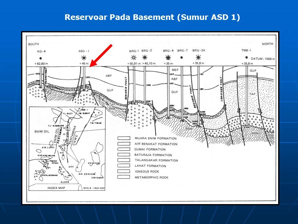 Reservoar Pada Basement (Sumur ASD 1)