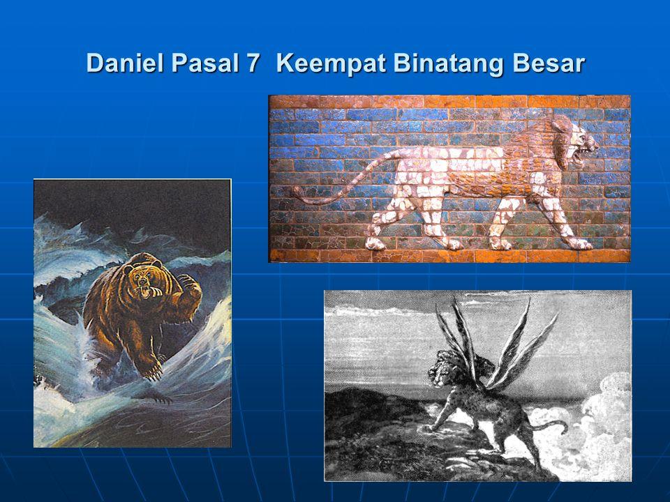 Daniel Pasal 7 Keempat Binatang Besar