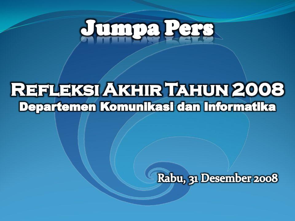 Daya Serap Keuangan Per 30 Desember 2008, Pkl.