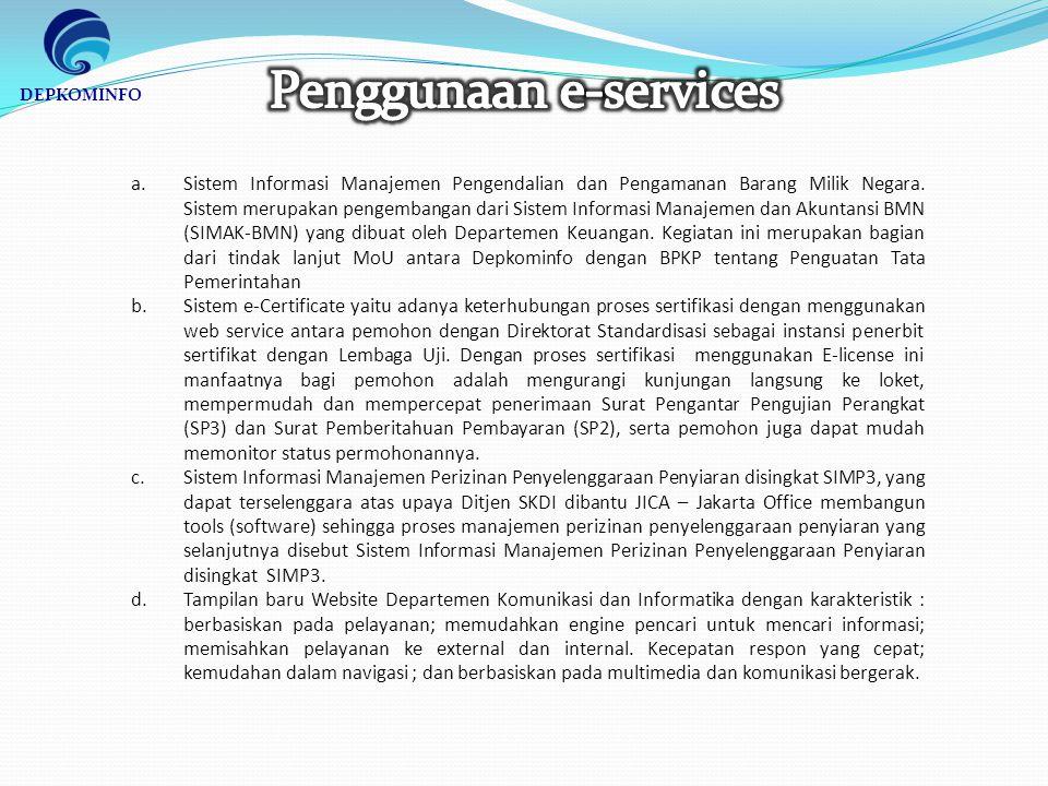 a.Sistem Informasi Manajemen Pengendalian dan Pengamanan Barang Milik Negara.