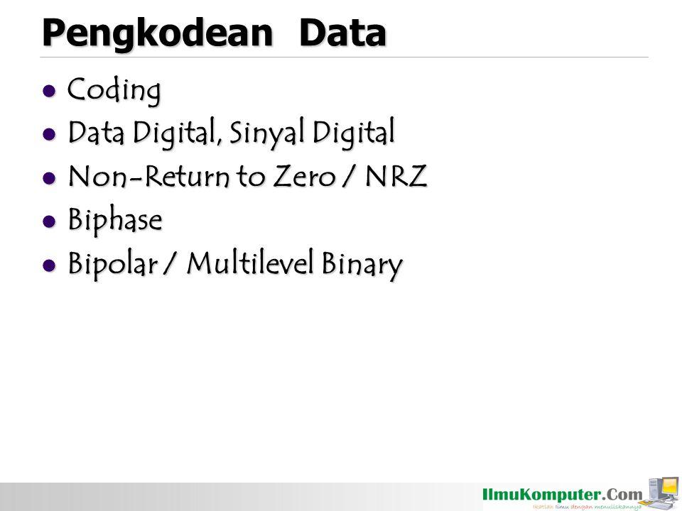 Teknik modulasi merupakan dasar dari frequency domain : Modulasi adalah proses encoding sumber data dalam suatu sinyal carrier dengan frekuensi f c.