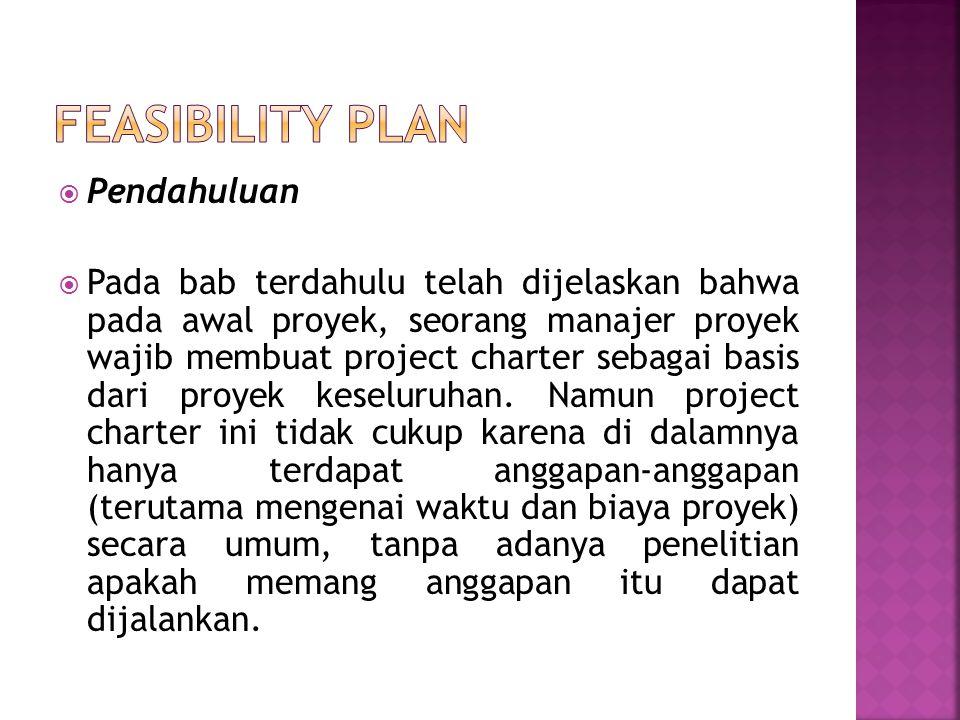  Pendahuluan  Pada bab terdahulu telah dijelaskan bahwa pada awal proyek, seorang manajer proyek wajib membuat project charter sebagai basis dari pr