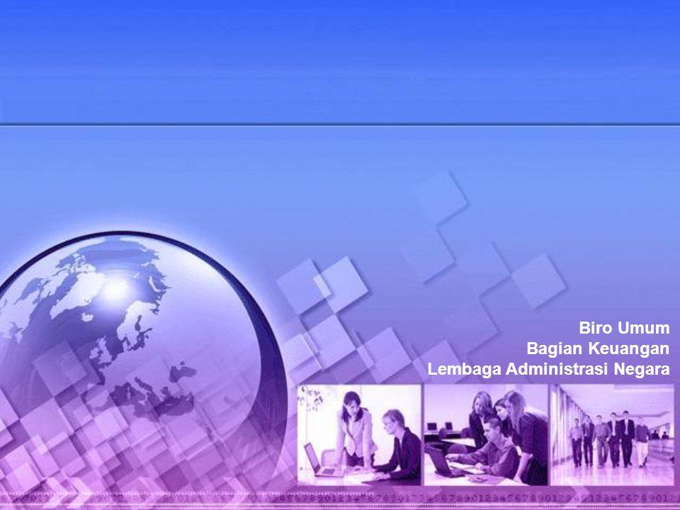 Biro Umum Bagian Keuangan Lembaga Administrasi Negara