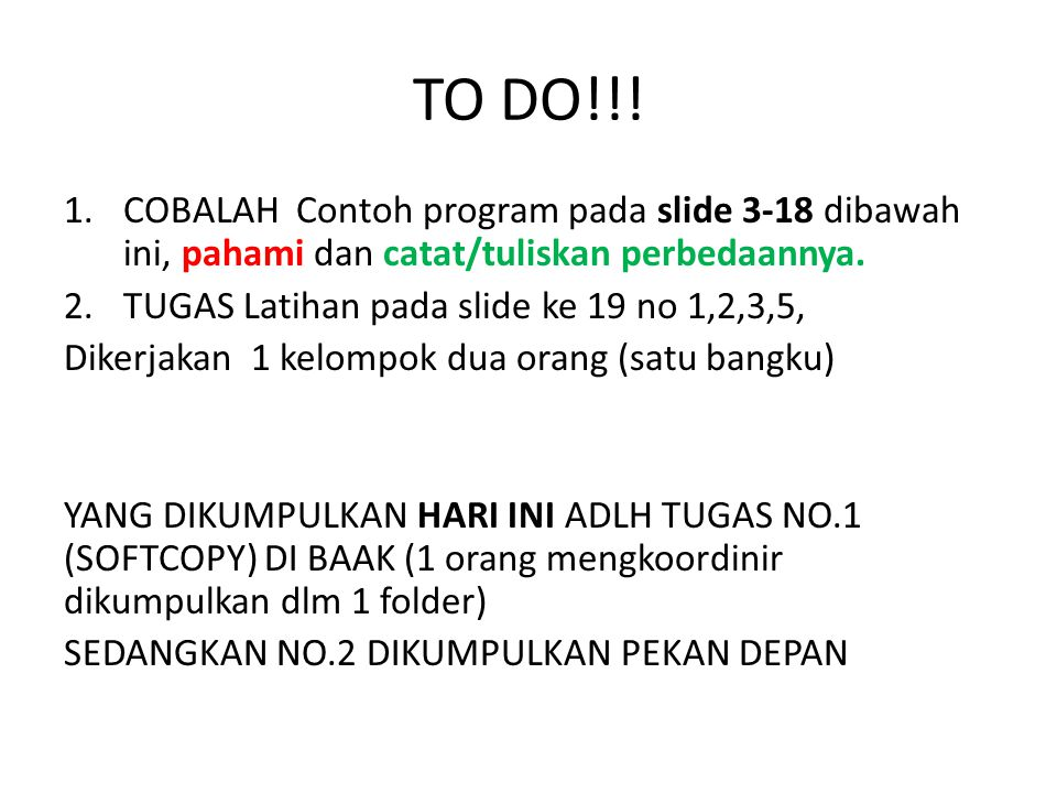 TO DO!!.