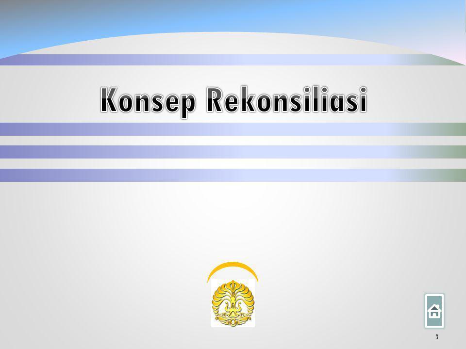 Sistematika Konsep Rekonsiliasi 1. Rincian Item Rekonsiliasi 2. Kasus dan Ilustrasi 3.