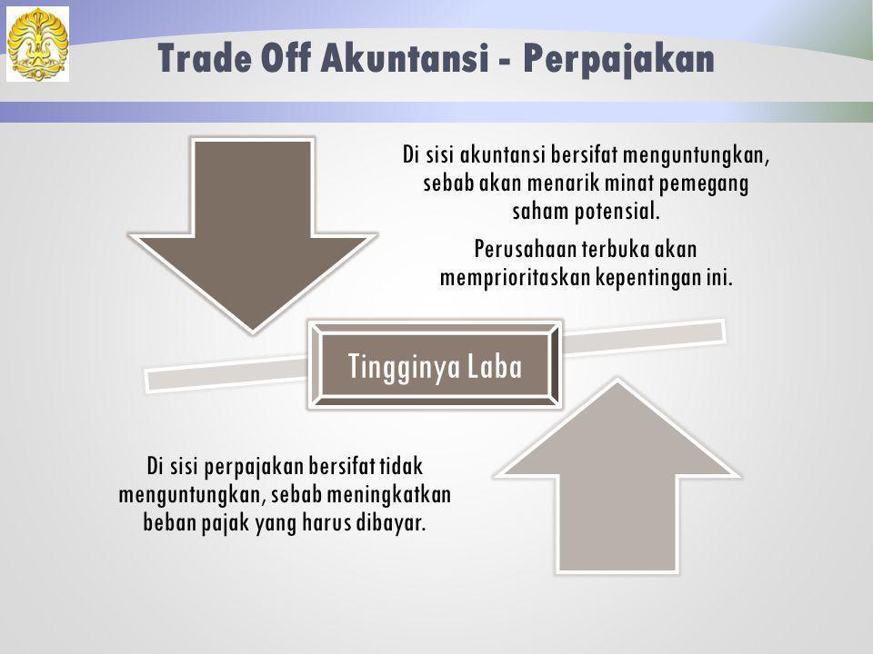 Teknik Rekonsiliasi Rekonsiliasi melakukan pembenaran atas setiap item pendapatan dan beban sehingga sesuai dengan ketentuan perpajakan.