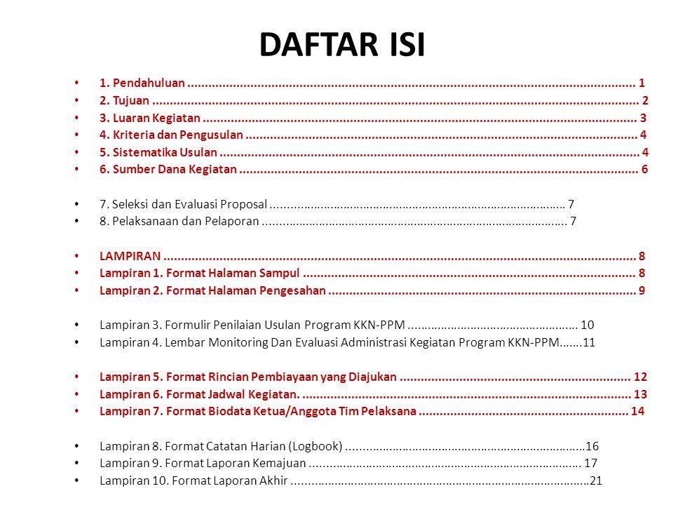 DAFTAR ISI 1.