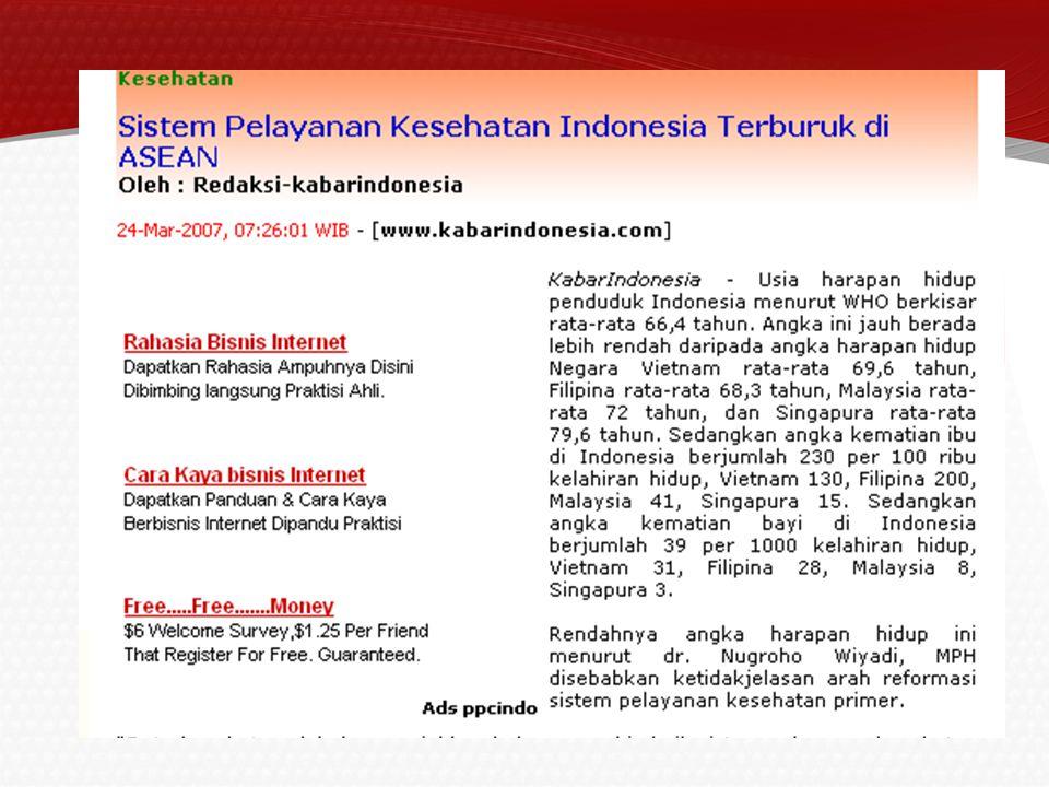 12/16/2014 promkes KESEHATAN MASYARAKAT DI INDONESIA 4 ANCAMAN KESEHATAN MASYARAKAT DI INDONESIA Unfinished agenda (yang tidak pernah selesai diatasi): diare, demam berdarah (DBD), gizi kurang, penyakit yg menyerang penduduk miskin.