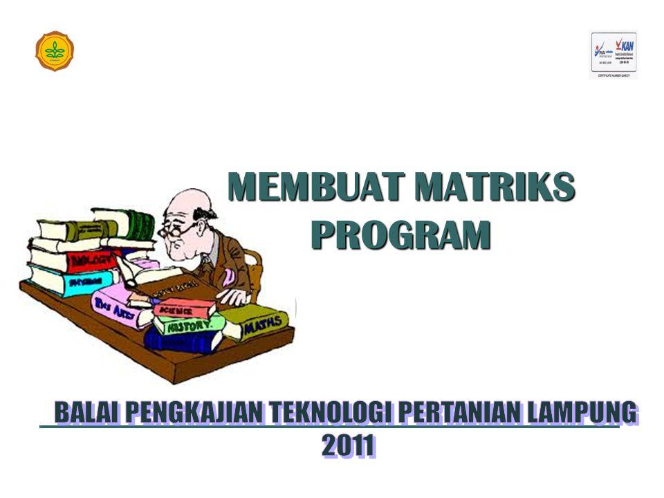 MEMBUAT MATRIKS PROGRAM