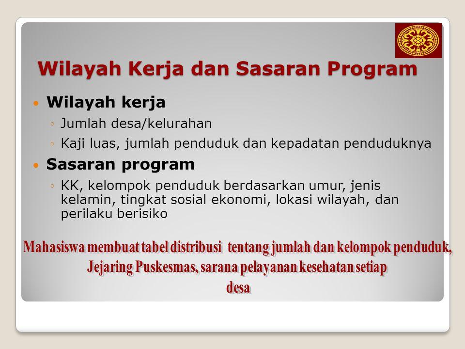 Program Puskesmas 1.