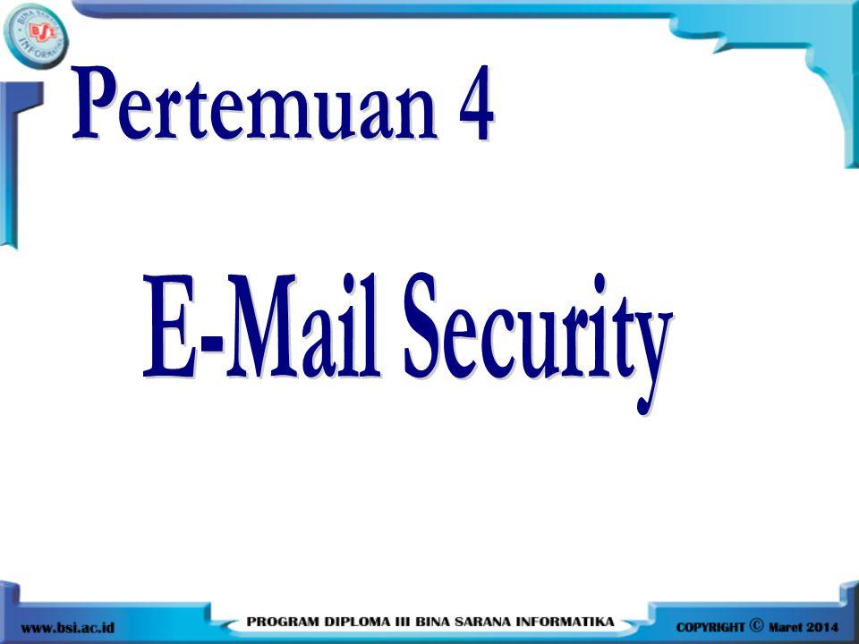Email Palsu (lanjutan) Salah satu situs untuk membuat email palsu: emkei.cz, to: bisa ke gmail atau yahoo Pengirim email palsu Penerima email