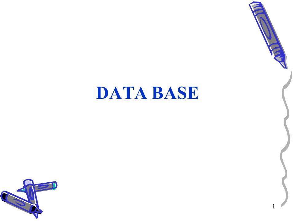 1 DATA BASE