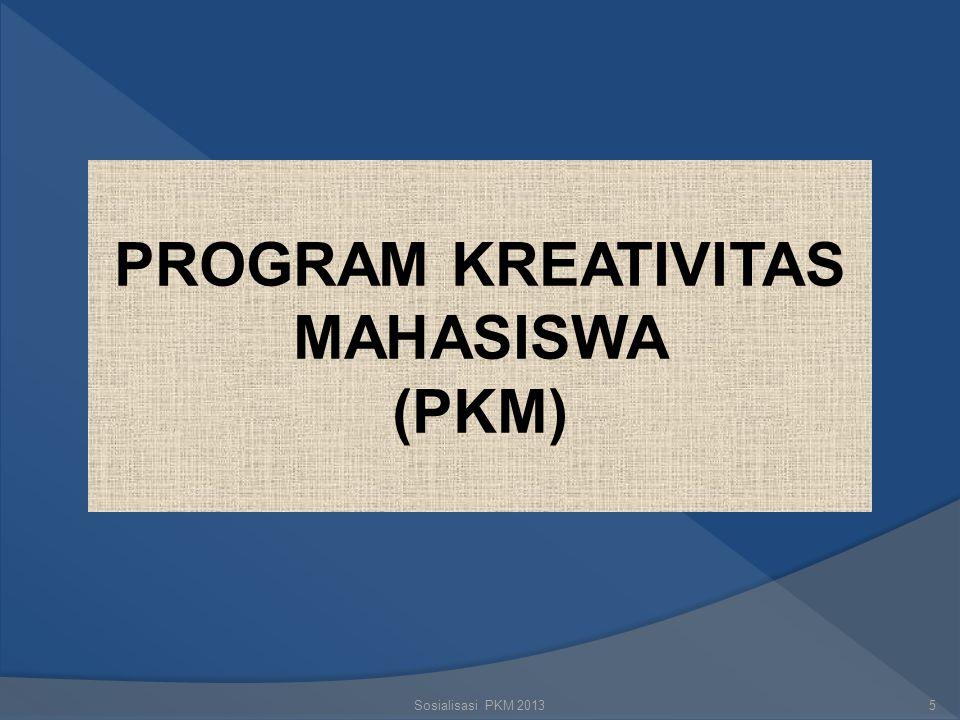 Sosialisasi PKM 20134 MENGAPA KITA MENULIS  Alasan ideal : kontribusi pada IPTEKS  Alasan teknis :  Dasar penelitian selanjutnya  Mengatasi kelema